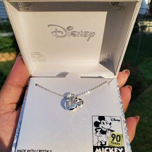 Disney's necklace fashion silver,Swarovski Crystal